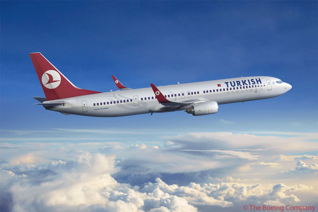 Turkish Airlines lizzy rencontrer le pape