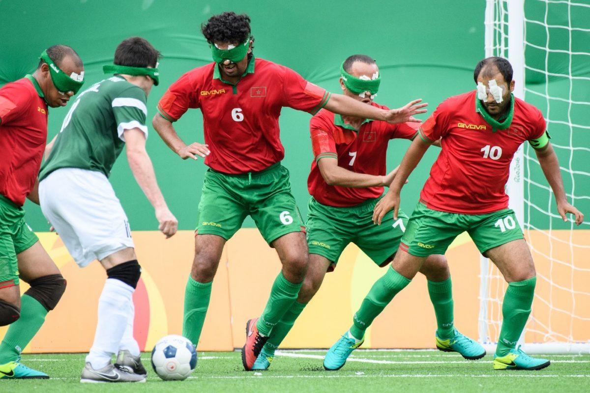 Cecifoot : le foot pour les aveugles