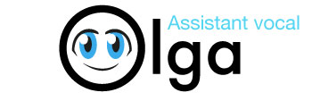 Logo Olga assistant vocal