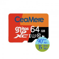 SD Card 64Gb for Olga O4 + Adapter