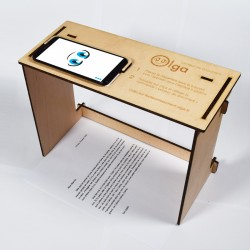 A4 Wood Support for Document Reader Olga